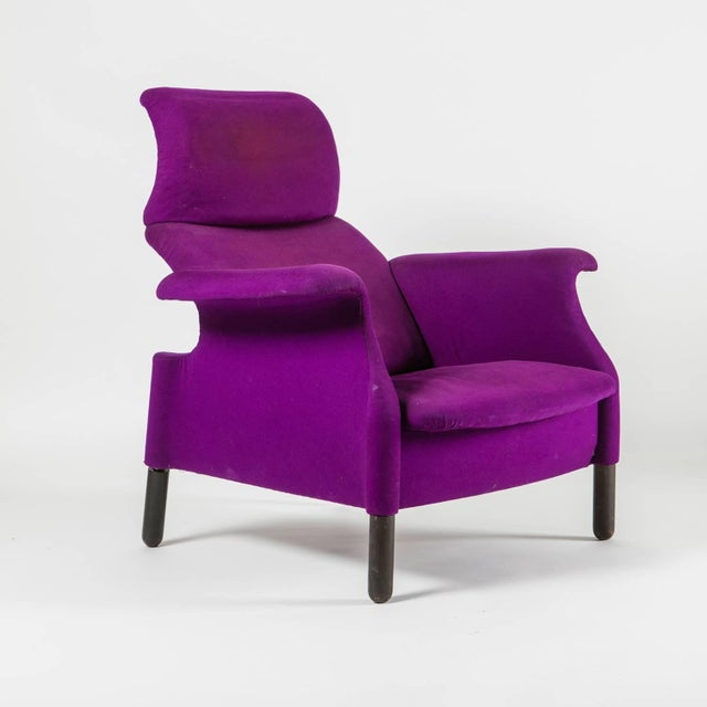 """Remarkable set of two """"Sanluca"""" lounge chairs by Achille and Pier Giacomo Castiglioni for Gavina."""