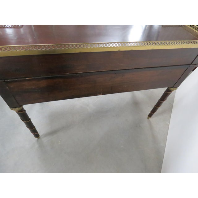 French Empire Style Desk For Sale - Image 11 of 12