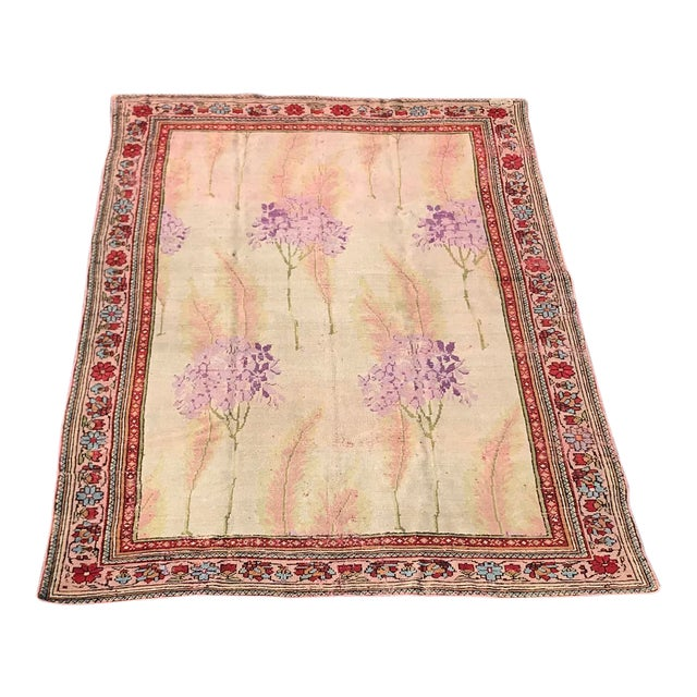 Vintage Design Decorative Turkish Rug- 7′2″ × 10′ For Sale