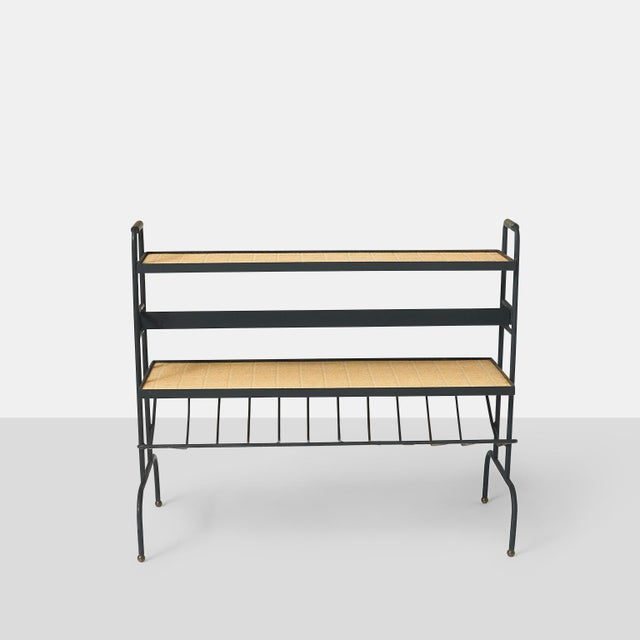 Jacques Adnet Bookstand by Jacques Adnet For Sale - Image 4 of 9