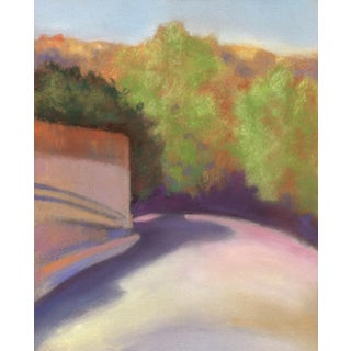 San Francisco Bay Area Port Costa Pastel Drawing For Sale