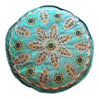 Indian Boho Pouf Cover For Sale