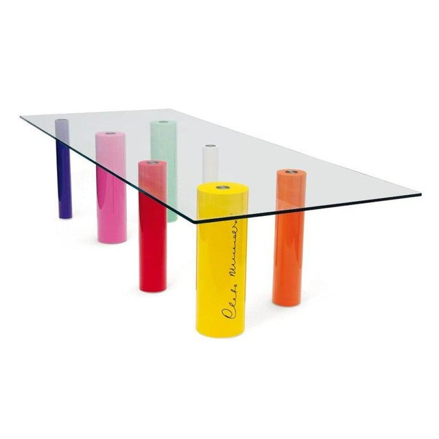 Mid-Century Modern 'Palafitte' Table by Cleto Munari, 2008, Limited Edition 99 Example For Sale - Image 3 of 5
