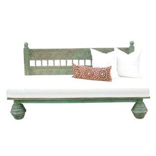 Emerald Florette Carved Daybed