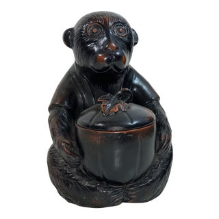 Vintage Vernissage Fitz and Floyd Monkey Statue For Sale