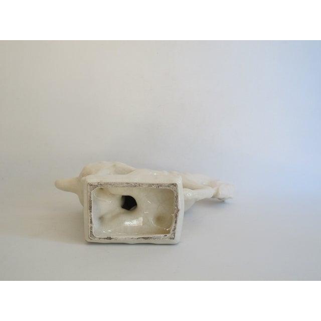White Chinese Porcelain Horse - Image 7 of 8