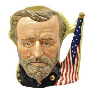 Royal Doulton Antagonists Collection Ulysses S. Grant Robert E. Lee Toby Mug For Sale