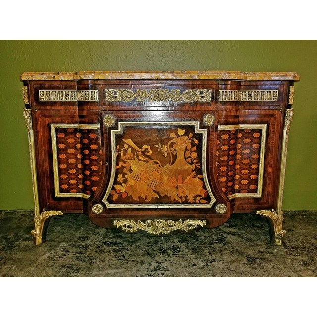 19th Century Louis XVI Commode After Reisener For Sale - Image 12 of 13
