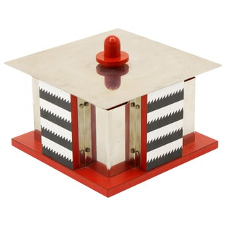 Gracieux Accueil Box From Objects for the Electronic Age by Nathalie Du Pasquier For Sale