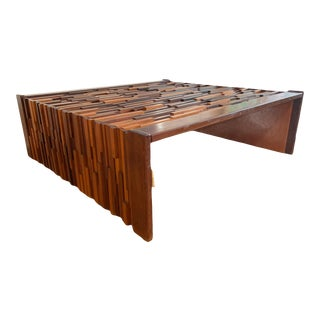 Mid 20th Century Coffee Table by Percival Lafer For Sale
