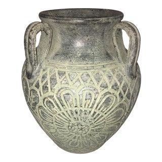 Antique Bronze Ceramic Jug