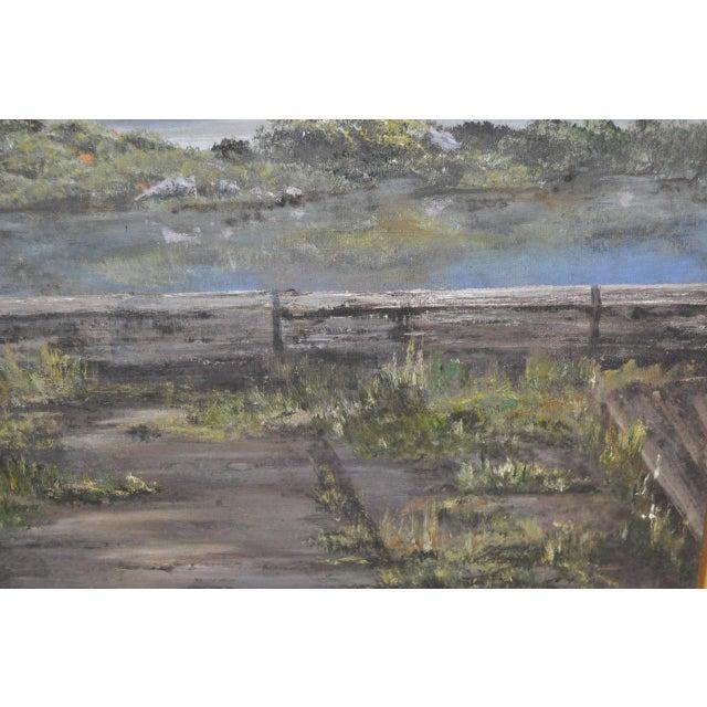 Hutchinson Co. Quarry Original Oil Painting c.1960 - Image 5 of 9