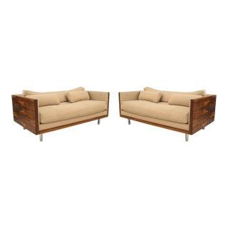American Postwar Design Rosewood Loveseats For Sale