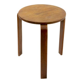 Mid Century Taboret Table Attributed to Thonet For Sale