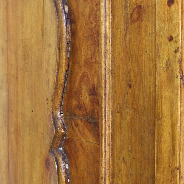 Grand Antique 17th Century Tuscan Armoire For Sale - Image 10 of 13