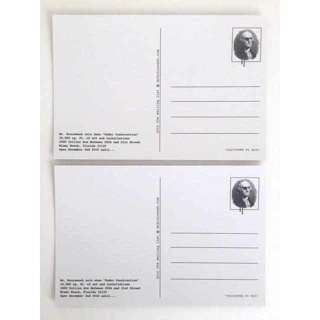 Mr. Brainwash Original Pop Art Exhibition Event Postcard Prints - Set of 10 For Sale - Image 9 of 11