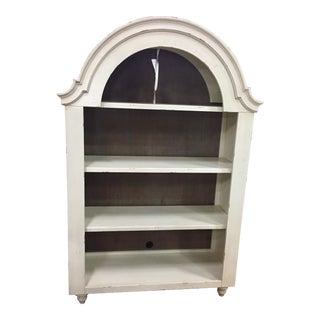 Cottage White Auberge Display Cabinet For Sale