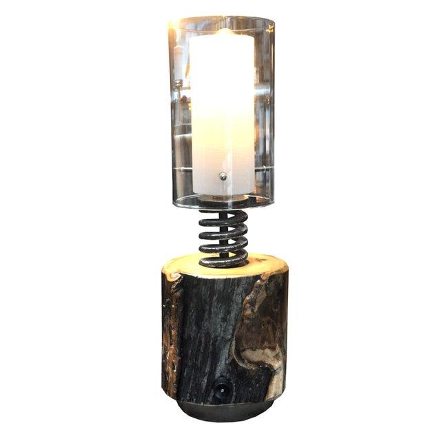 Ted Harris Stump Lamp - Image 1 of 4