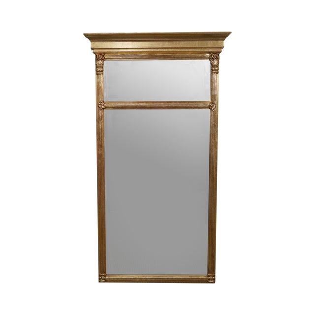 Italian Made Gilt Federal Hanging Wall Mirror - Image 1 of 10