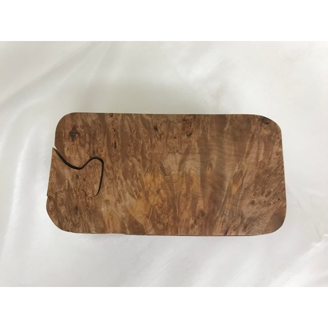Burl Wood Puzzle Box - 5 Pieces For Sale In Saint Louis - Image 6 of 9
