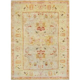 Mansour Fine Decorative Handnmade Oushak Rug