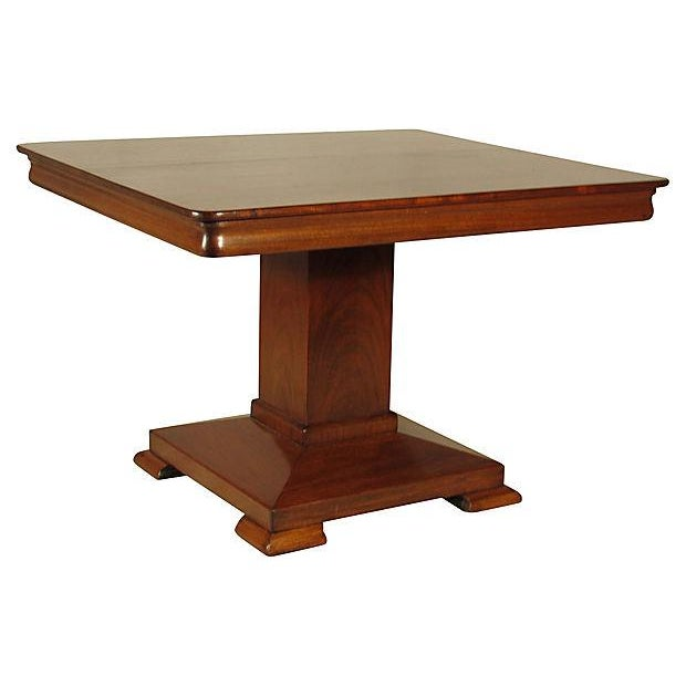 19th Ameican Empire Mahogany Breakfast Table - Image 2 of 6
