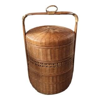 Vintage Tiered Wedding Style Basket