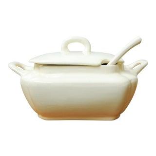 Vintage Porcelain Soup Tureen For Sale