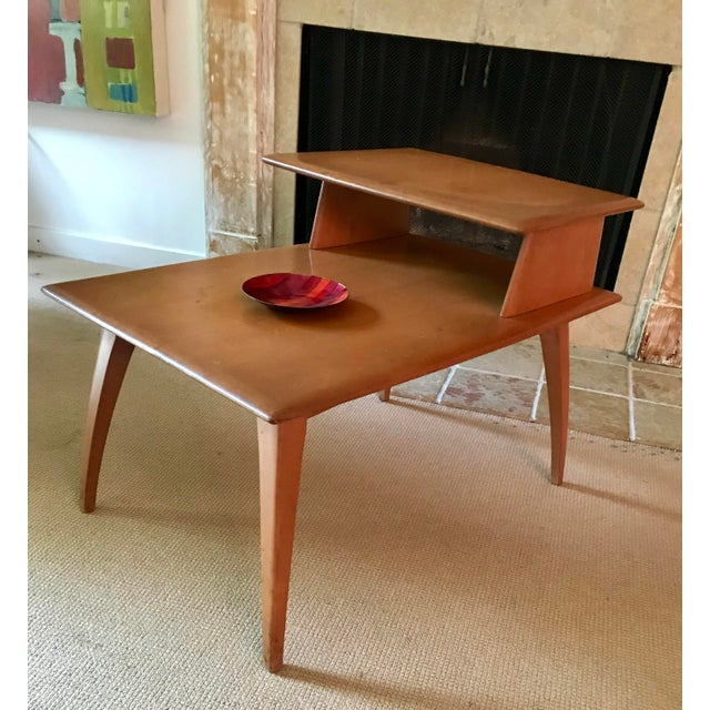 Mid Century Side Table Heywood Wakefield For Sale In New York - Image 6 of 9