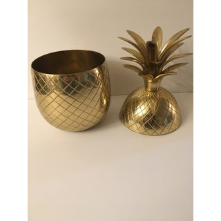 Solid Brass Pineapple Jar Preview