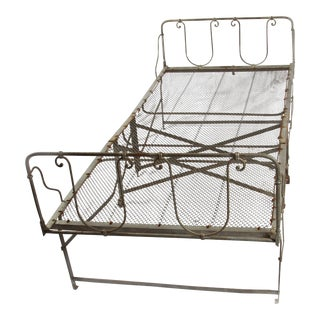 French Vintage Daybed For Sale