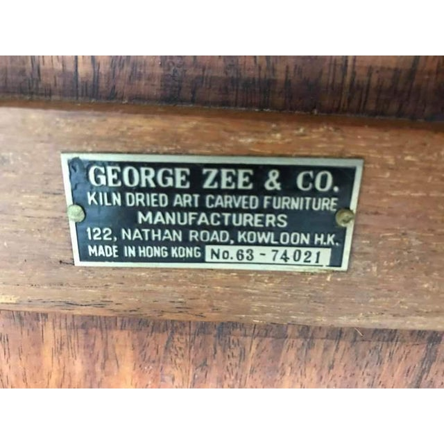 George Zee Chinese Style Wood Coffee Table For Sale In San Francisco - Image 6 of 7