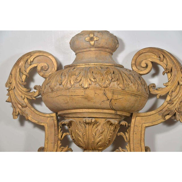 Large 18th Century Louis XVI Carved Urn For Sale In Houston - Image 6 of 9