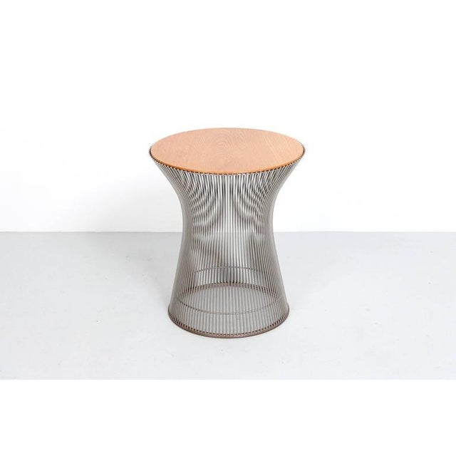 Knoll International Pair of Side Tables by Warren Platner for Knoll For Sale - Image 4 of 11