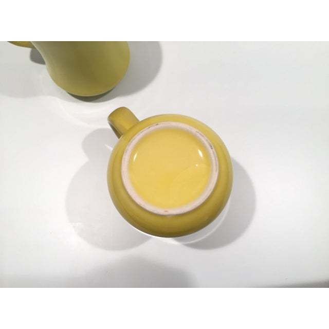 Mid-Century Green Mugs - A Pair - Image 6 of 6
