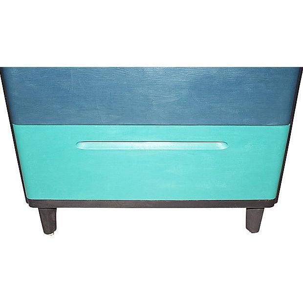 1960s Huntington Mid-Century Modern Painted Dresser For Sale - Image 5 of 7