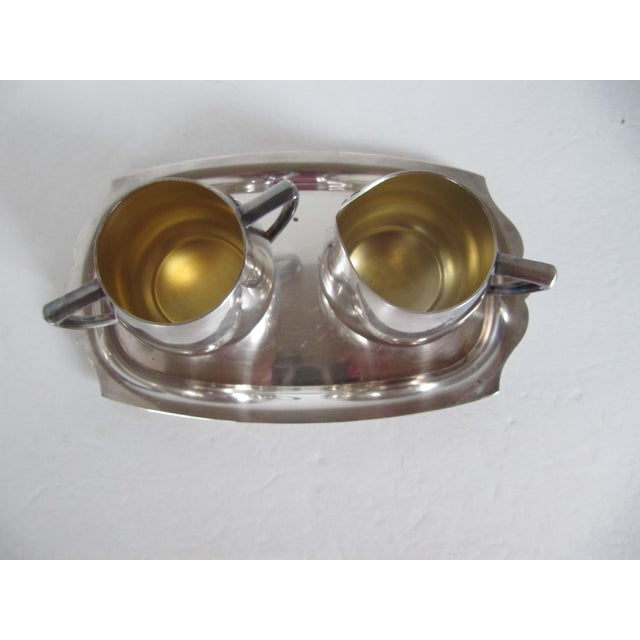 Empire Crafts Silver Plate Serving Set - Set of 3 - Image 3 of 5