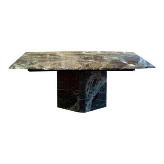 Contemporary Maurice Villency Marble Dining Table For Sale