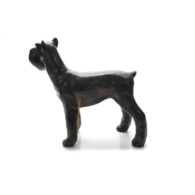 1920s 1920s Bronze Scottie Dog Sculpture For Sale - Image 5 of 9