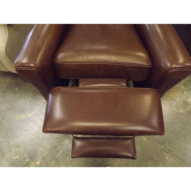 American Leather Lincoln Recliner Chair - Image 4 of 8