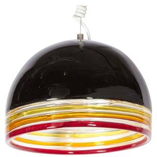 Italian 1970s Pendant Light by Leucos For Sale
