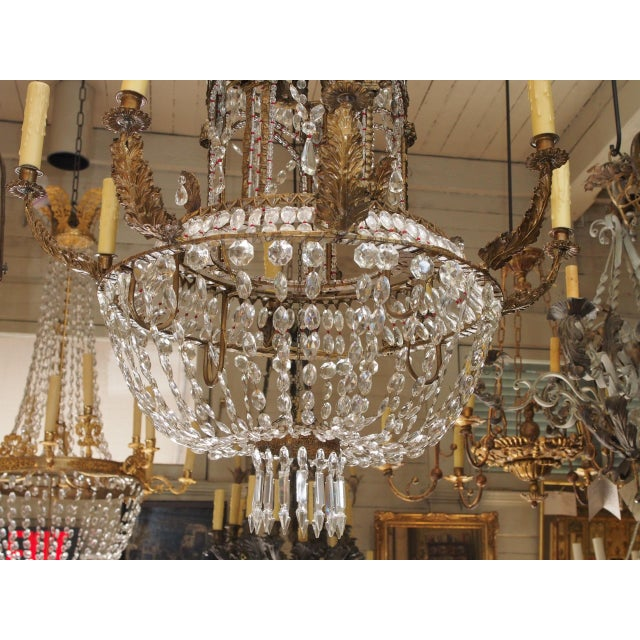Empire Crystal Chandelier - Image 4 of 9