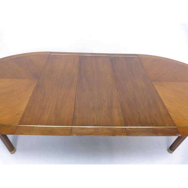 Baker Far East Round-to-Oval Dining Table - Image 8 of 10
