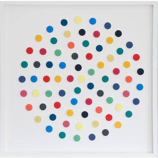 Dawn Wolfe, Rainbow Dot Collage For Sale
