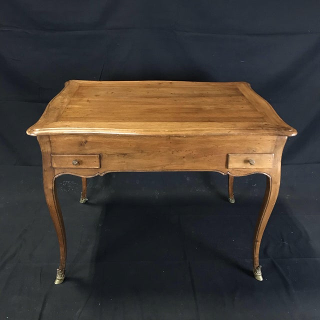 19th Century Antique Walnut Game or Side Table For Sale In Portland, ME - Image 6 of 12