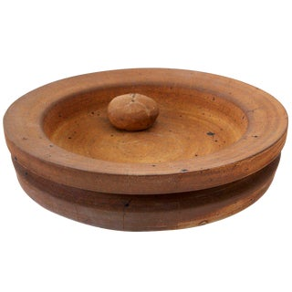 Sculptural Bowl/Wall-Plaque by Stig Lindberg For Sale