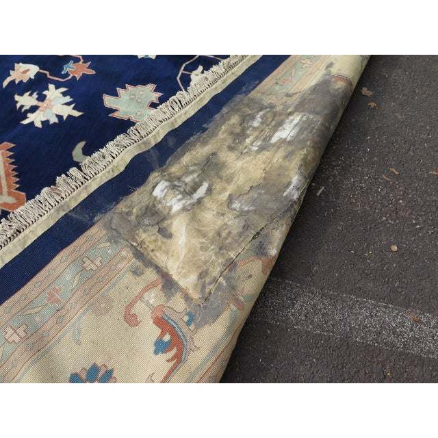 Persian Heriz Pattern Rug - 27' x 17' For Sale - Image 11 of 11
