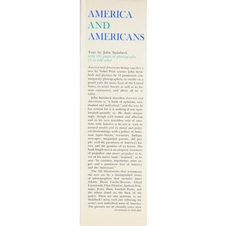 """1966 """"America and Americans"""" Coffee Table Book Preview"""