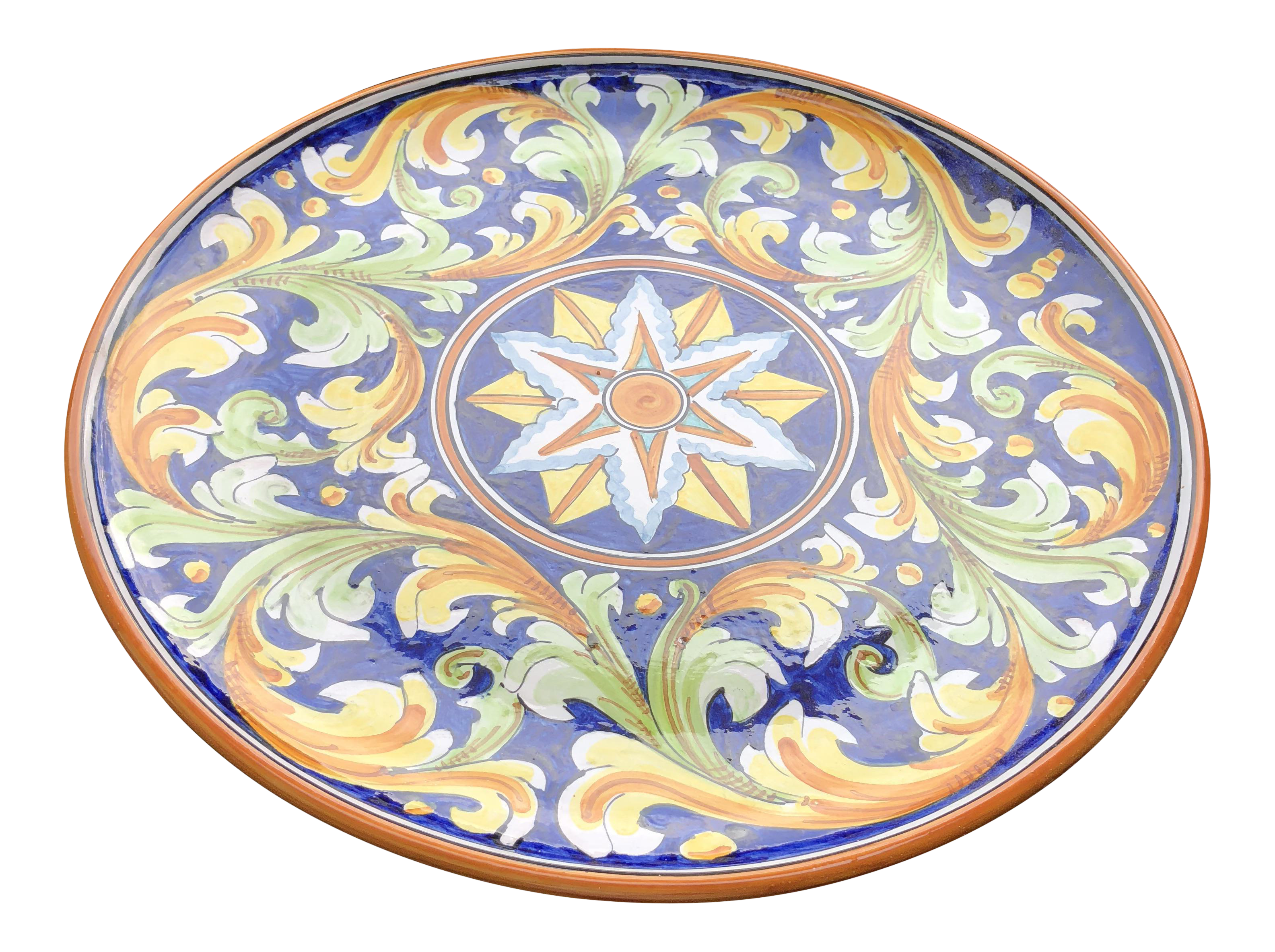 Italian Ceramic Decorative Plate Wall Hanging  sc 1 st  Chairish : italian decorative wall plates - Pezcame.Com