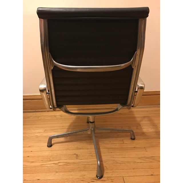 Eames for Herman Miller Aluminum Lounge Chair & Ottoman - Image 7 of 11